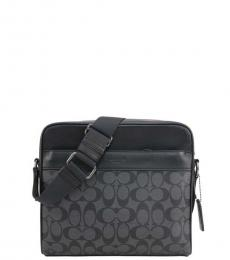 Coach Black Charles Camera Large Crossbody