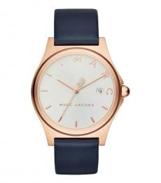 Marc Jacobs Blue Henry Watch