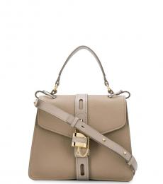 Chloe Grey Aby Medium Satchel