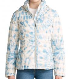 Calvin Klein Cham Multi Hooded Packable Jacket
