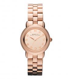 Marc Jacobs Rose Gold Mini Marci Watch