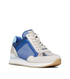 Michael Kors Electric Blue Maddy Sneakers