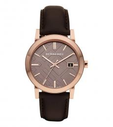 Burberry Dark Brown Classic Watch