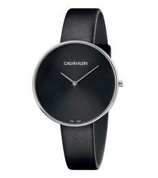 Calvin Klein Black Full Moon Watch