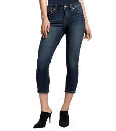 True Religion Hazy Midnight Halle Skinny Fit Jeans