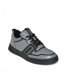 Bikkembergs Grey Scoby Low Top Sneakers