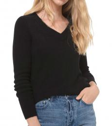 Michael Kors Black Soild Knit Sweater