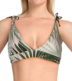 Vince Camuto Fern Printed Reversible Beachwear Top