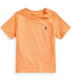 Ralph Lauren Baby Boys Sunset Heather Crew-Neck T-Shirt
