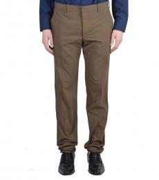 Brown Casual Pants