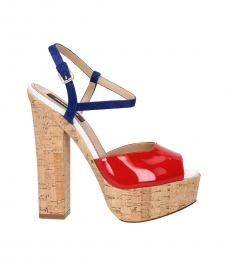 Dsquared2 Red Leather Pumps