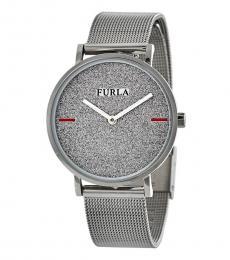 Furla Silver Modish Stately Watch