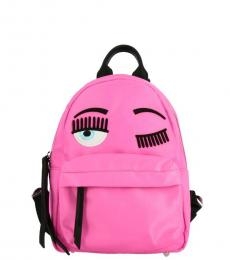 Fuchsia Iconic Small Backpack