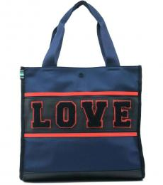 Tory Burch Midnight Love Large Tote