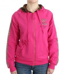 Just Cavalli Pink Zipup Jacket