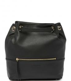 Lancaster Paris Black Mademoiselle Estelly Small Backpack
