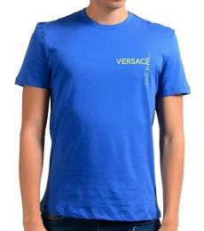 Versace Jeans Blue Graphic Print T-Shirt