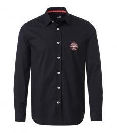 Black Patch Logo Shirt