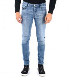 Diesel Blue Stretch Sleenker Jeans