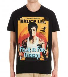 Black Bruce Lee T-Shirt
