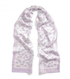 Ralph Lauren Lavender Mist Diana Silk Scarf