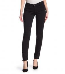 Black Stilt Cigarette Leg Pants