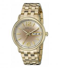 Marc Jacobs Gold Fergus Watch