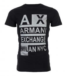 Black Slim Fit Logo T-Shirt