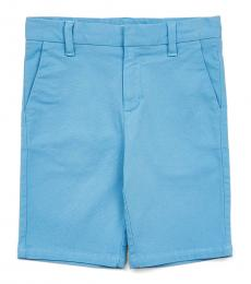 Calvin Klein Little Boys Alaskan Blue Ripstop Shorts