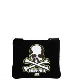 Philipp Plein Black Skull Small Crossbody