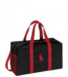 Ralph Lauren Black Pony Weekender Large Duffle Bag