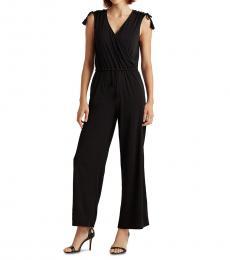 Polo Black Sleeveless Jumpsuit