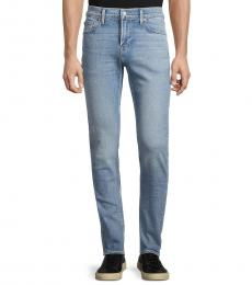 7 For All Mankind Light Blue Paxtyn Plain Pocket Jeans