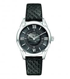 Versace Black Silver Dafne Watch