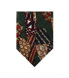 Dolce & Gabbana Green Timeless�Tie