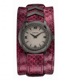 Cherry Quartz Watch