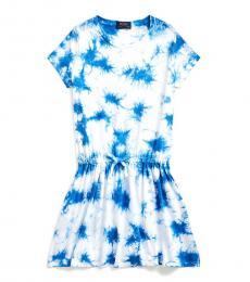 Ralph Lauren Girls Tie Dye Jersey Dress