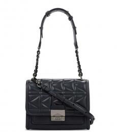 Black Quilted Small Shoulder Bag