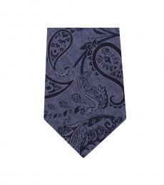 Michael Kors Multi Color Dapper Paisley Slim Silk Tie