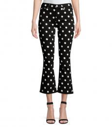 Black Slim-FIt Crop Jeans