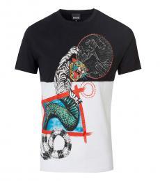 BlackWhite Graphic Print T-Shirt