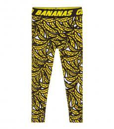 Stella McCartney Girls Black Banana Leggings