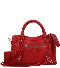 Red City Small Satchel