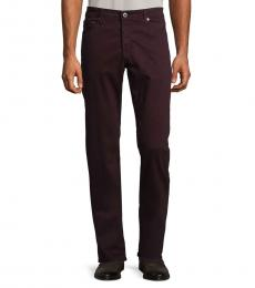 AG Adriano Goldschmied Dark Amethyst Graduate Slim Straight-Fit Jeans