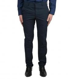 Navy Blue Casual Pants