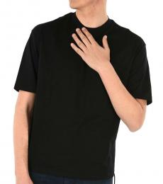 Black Round Necked T-Shirt