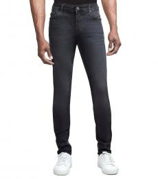 True Religion Charcoal Grey Super Skinny Jeans