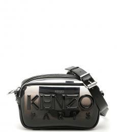 Kenzo Black Logo Small Crossbody