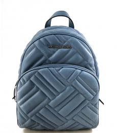 Michael Kors French Blue Abbey Medium Backpack