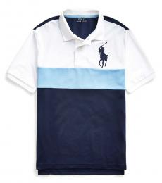 Ralph Lauren Boys Blue Lagoon Big Pony Performance Polo
